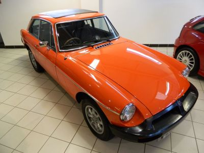 MG MGB 1.8 B GT Sports Petrol RedMG MGB 1.8 B GT Sports Petrol Red at WH Brand Ltd Spalding