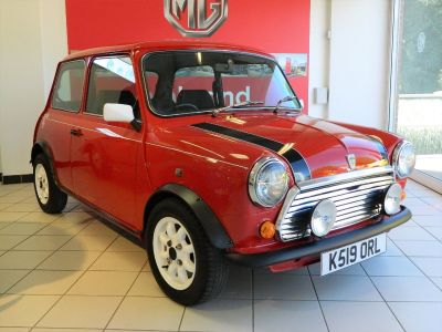 Rover Mini 1.3 Italian Job Saloon Petrol RedRover Mini 1.3 Italian Job Saloon Petrol Red at WH Brand Ltd Spalding