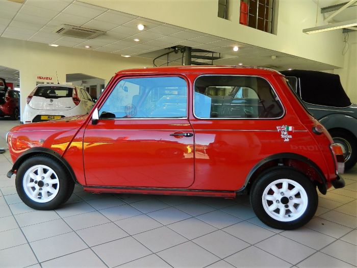 Rover Mini 1.3 Italian Job Saloon Petrol Red