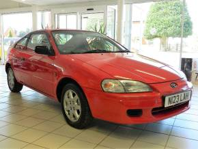Toyota Paseo 1.5 SI Coupe Petrol Red at W H Brand Whaplode Drove, Near Spalding