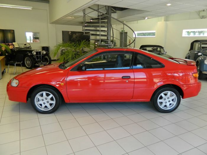 Toyota Paseo 1.5 SI Coupe Petrol Red
