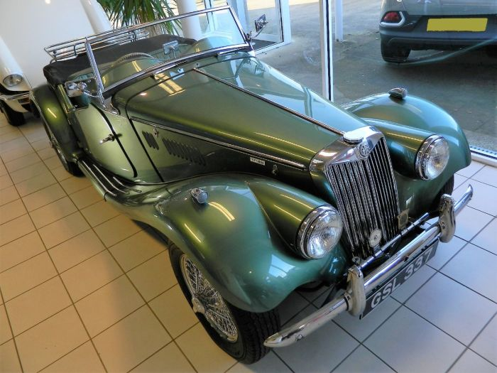 MG TF 1.5 1500 Convertible Petrol Almond Green