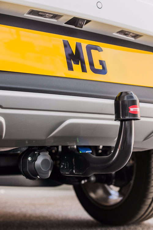MG ZS TOW BAR & 13 PIN ELECTRICS
