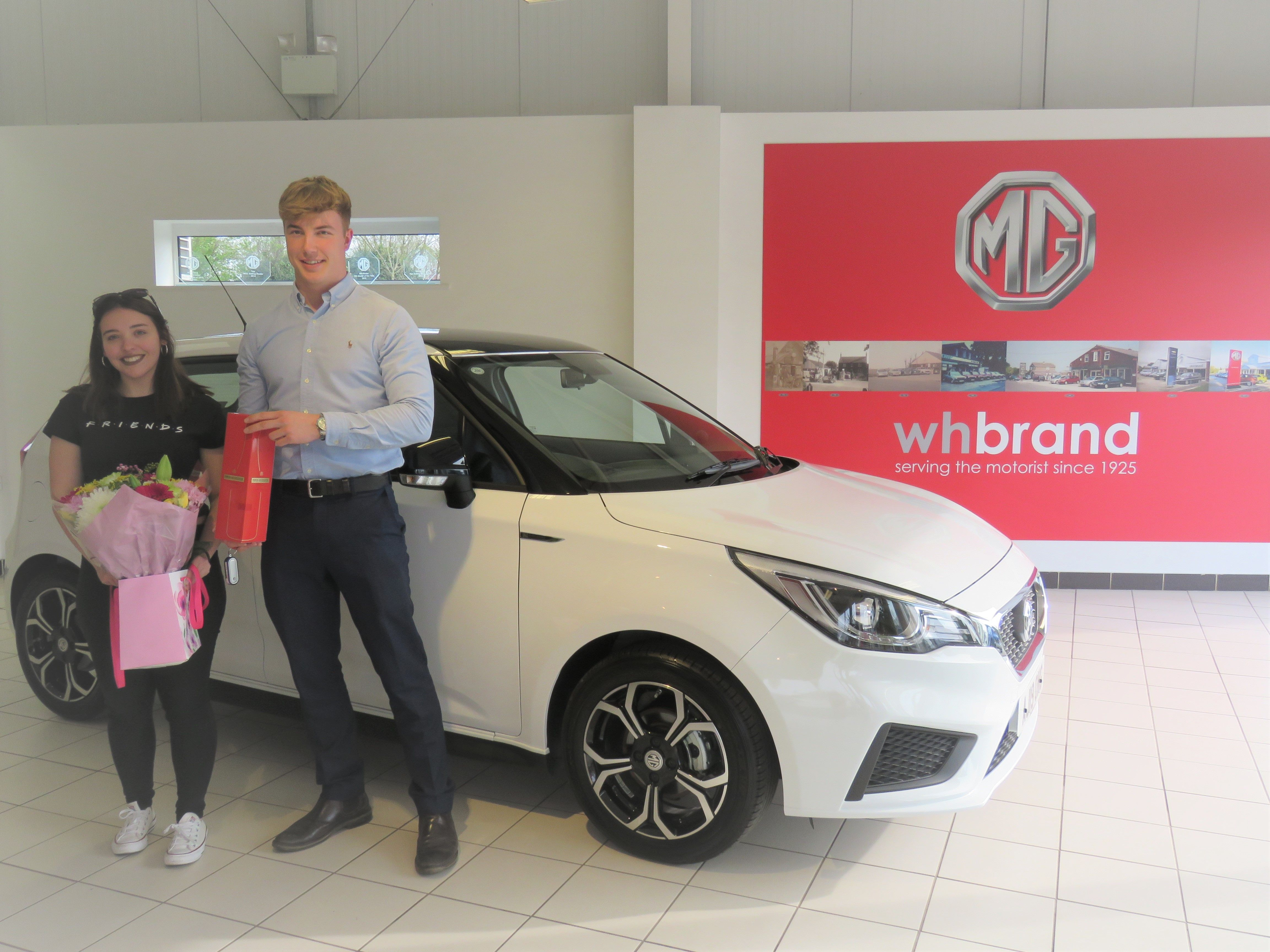 15,000th MG3 in the UK sold by W H Brand