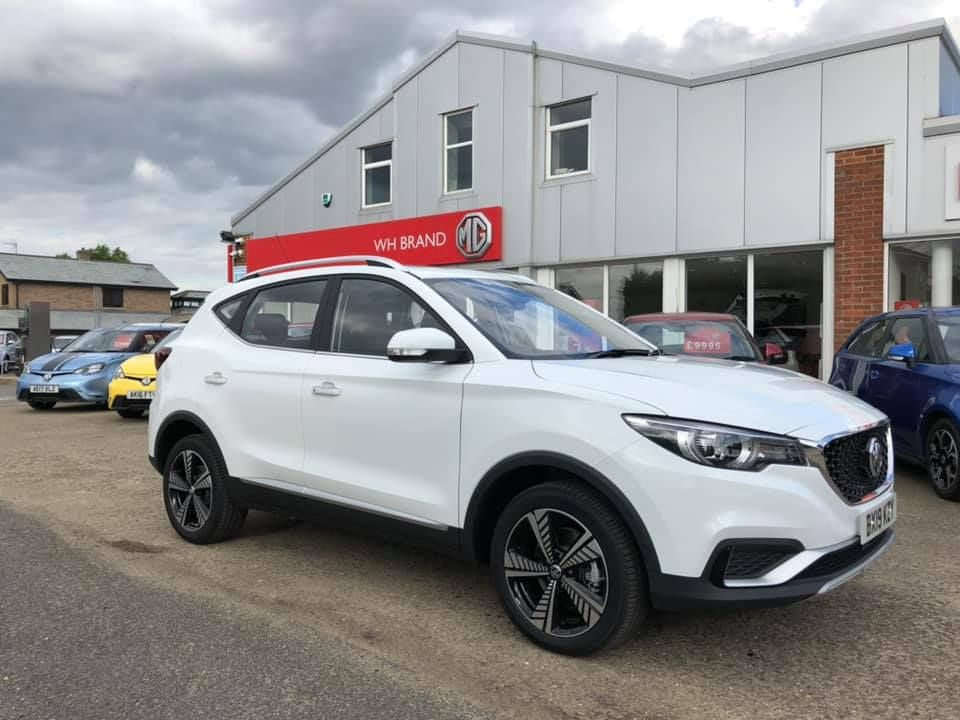 THE MG ZS EV IS HERE!