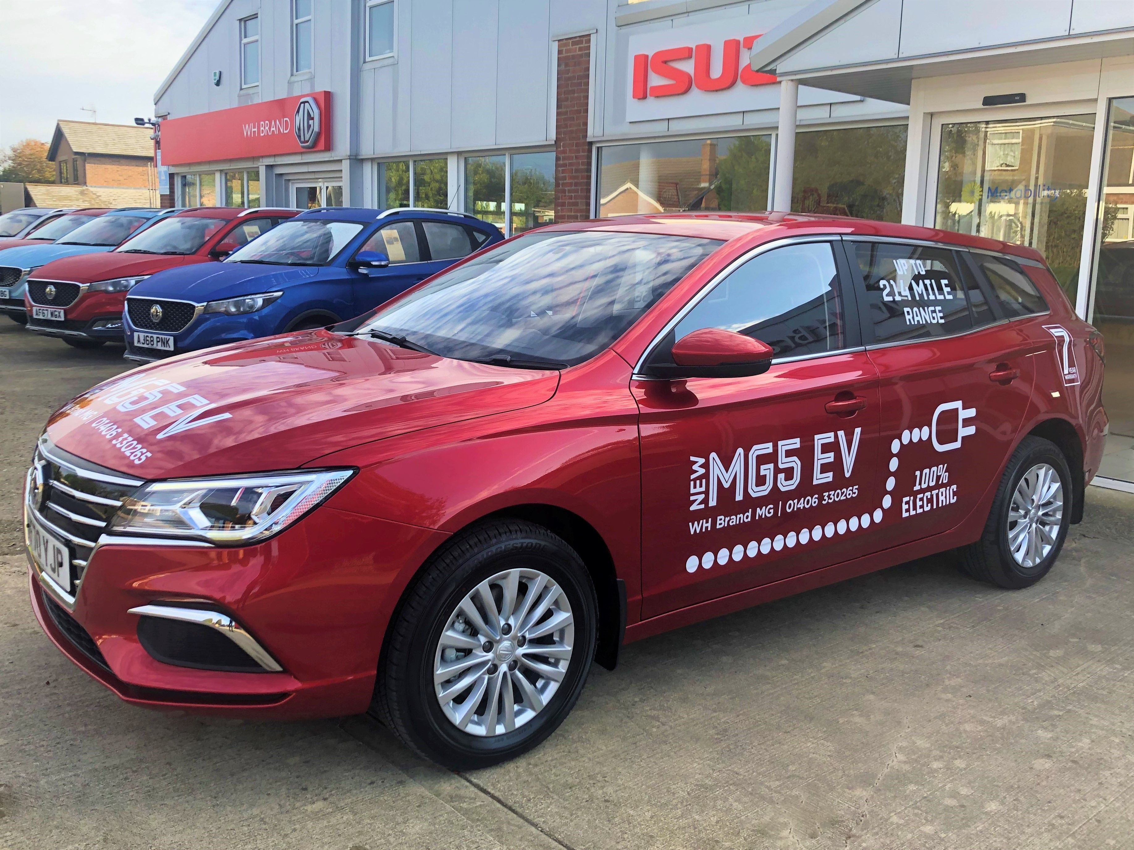 The All-New MG5 EV is here!