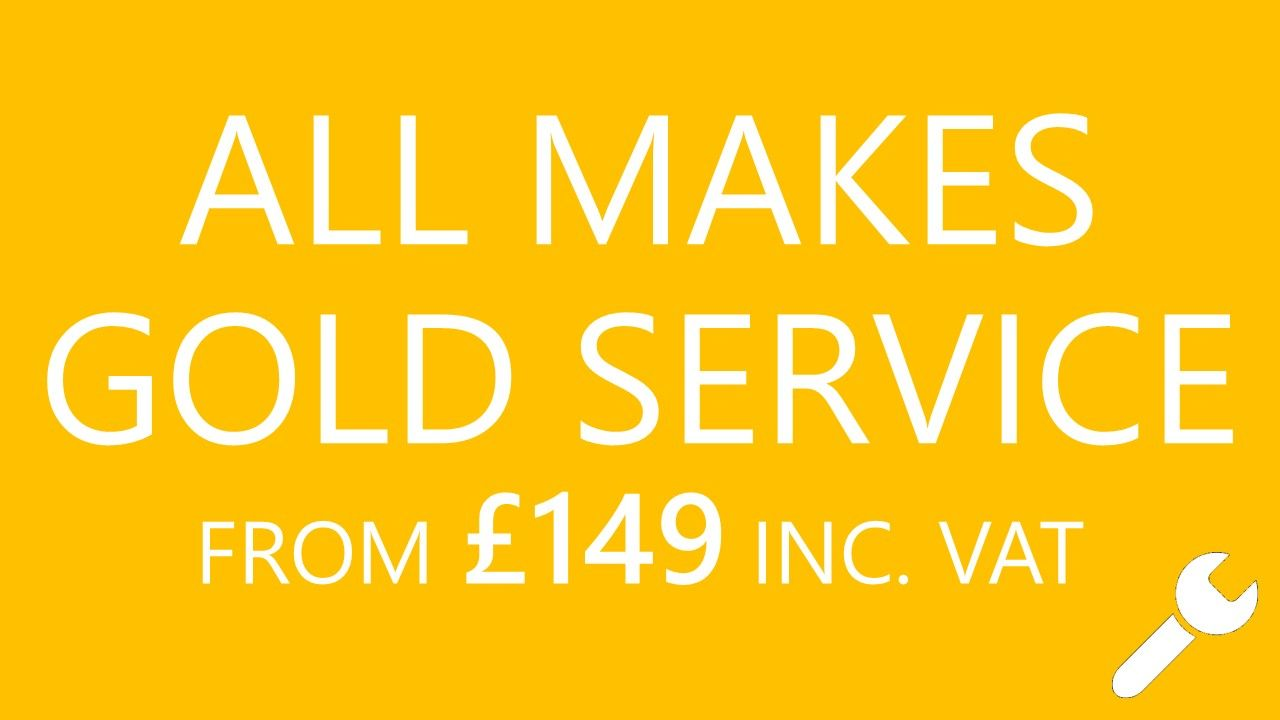 A COMPREHENSIVE SERVICE FOR ONLY £149