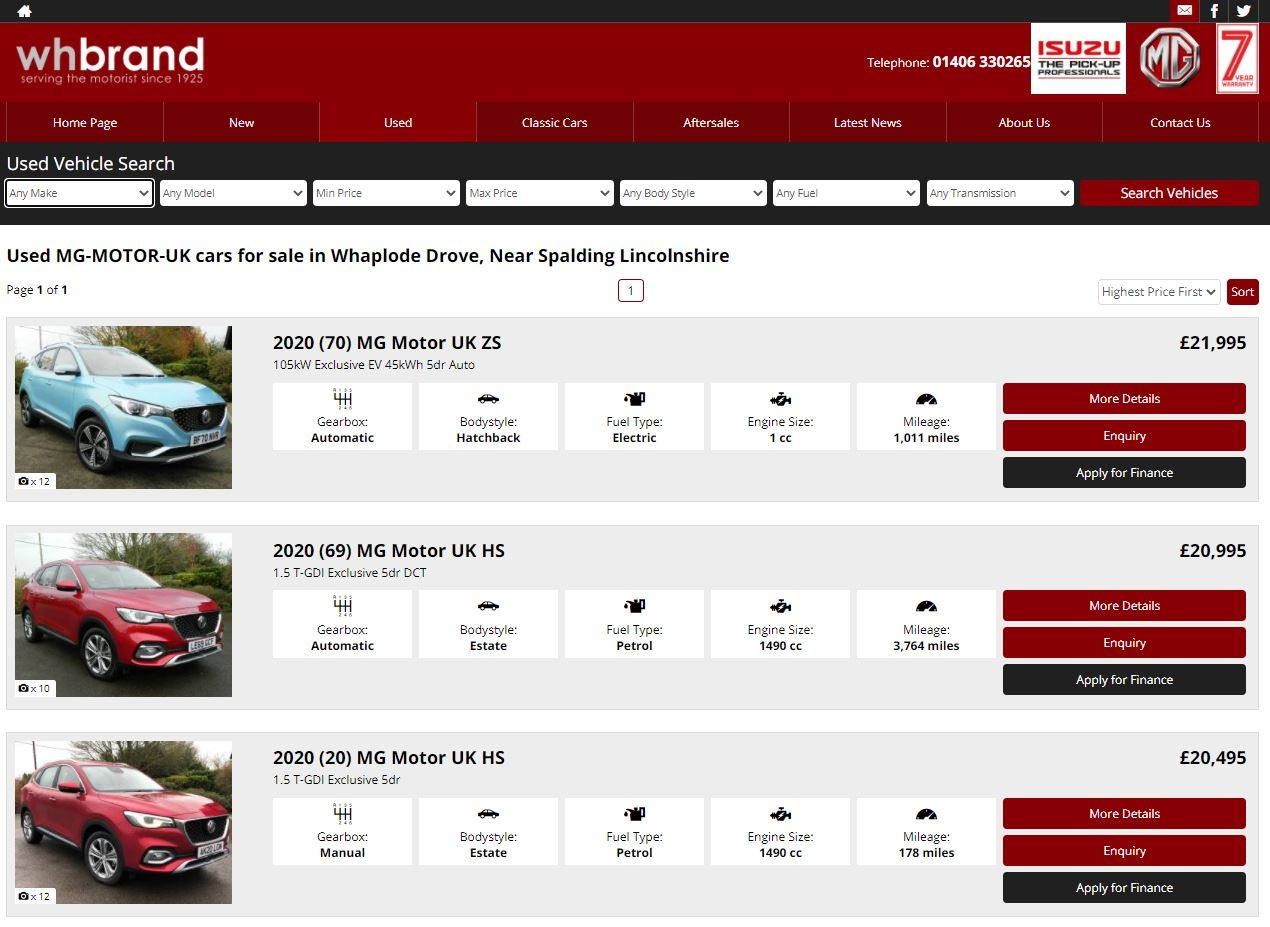 BROWSE OUR USED CARS