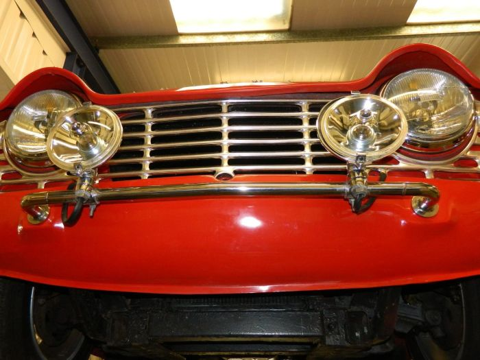 Triumph TR4 2.1 Convertible Petrol Red