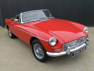 MG MGB 1.8 ROADSTER Sports Petrol Tartan RedMG MGB 1.8 ROADSTER Sports Petrol Tartan Red at WH Brand Ltd Spalding