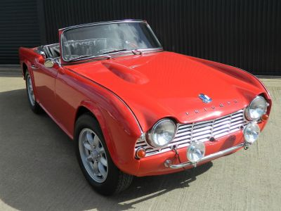 Triumph TR4 2.1 Convertible Petrol RedTriumph TR4 2.1 Convertible Petrol Red at WH Brand Ltd Spalding