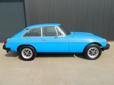 MG MGB 1.8 GT Coupe Petrol Pageant BlueMG MGB 1.8 GT Coupe Petrol Pageant Blue at WH Brand Ltd Spalding