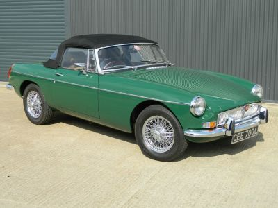MG MGB 1.8 ROADSTER Sports Petrol British Racing GreenMG MGB 1.8 ROADSTER Sports Petrol British Racing Green at WH Brand Ltd Spalding