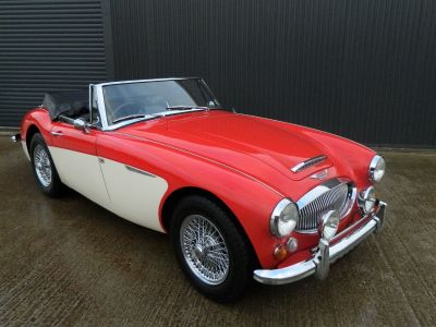 Austin Healey 2.9 3000 MKIII Sports Petrol Colorado Red Over Old English WhiteAustin Healey 2.9 3000 MKIII Sports Petrol Colorado Red Over Old English White at WH Brand Ltd Spalding
