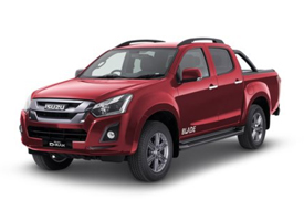 Isuzu Blade - Available In Spinel Red